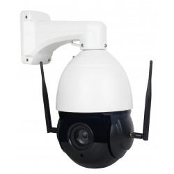 Bevielė valdoma IP 2MP Wi-Fi PTZ x30 lauko kamera (su 30 kartų optiniu priartinimu)