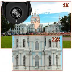 Belaidė 5MP 4G PTZ x22 optinio artinimo kamera (su SIM kortelės jungtimi)