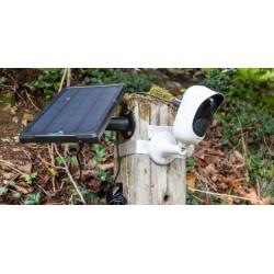 Saulės baterija ir kamera RA10 PLIUS