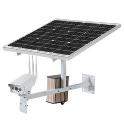 Belaidė 4G kamera su 60W 30Ah saulės kolektoriumi (su SIM kortelės jungtimi)