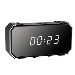 Slapta kamera - Stalinis laikrodis (4K, WiFi)