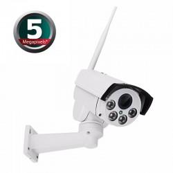 5MP 4G IP PTZ x5 optinio artinimo kamera (su SIM kortelės jungtimi)